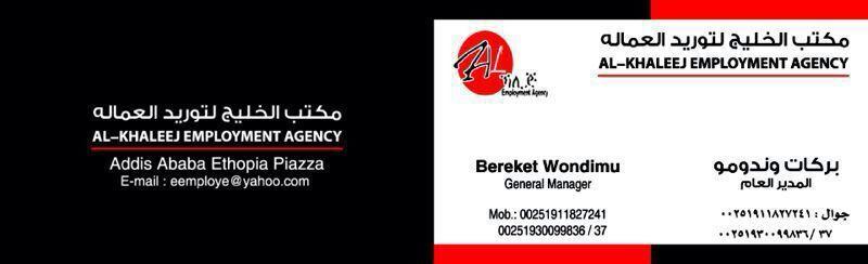 Al Khaleej Foreign Private Employment Agency p l c - Addis