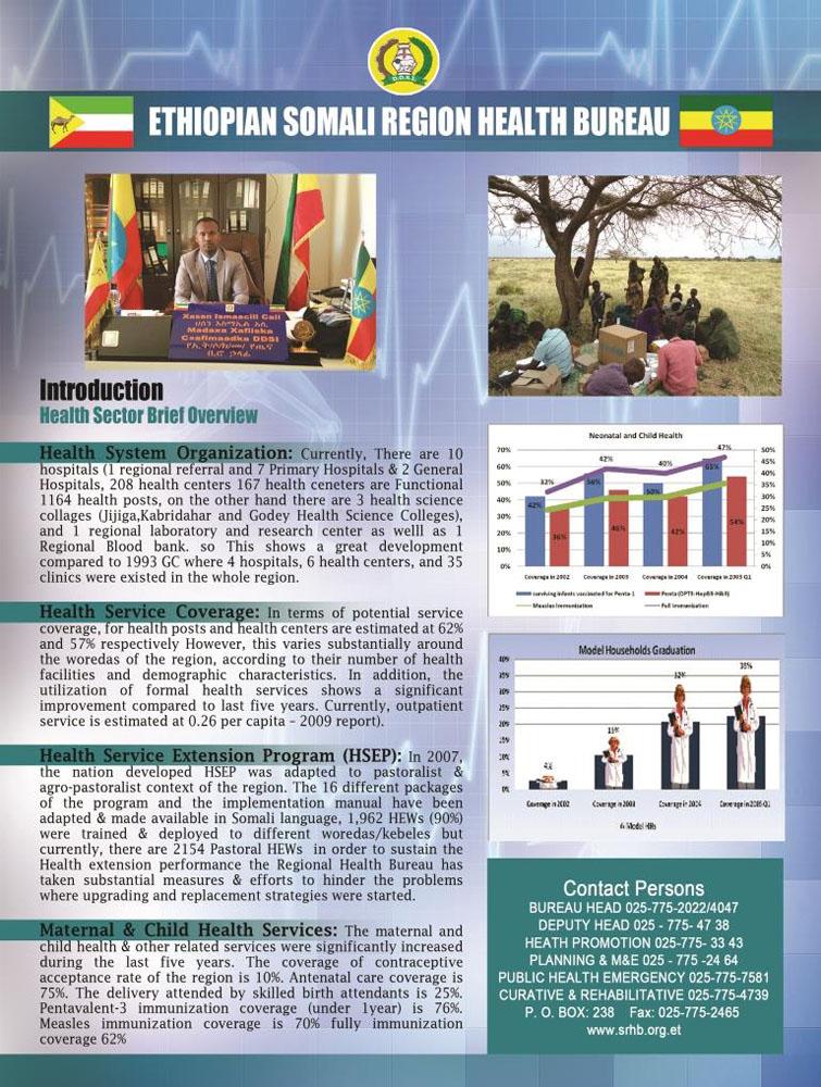 ETHIOPIAN SOMALI REGIONAL HEALTH BUREAU (ESHBU) - Dire Dawa