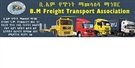 B.M FREIGHT TRANSPORT ASSOCIATION