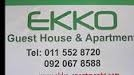 EKKO GUEST HOUSE & APARTMENT