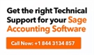 Sage 50 Tech support