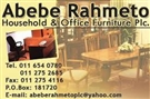 ABEBE RAHMETO HOUSEHOLD & OFFICE FURNITURE
